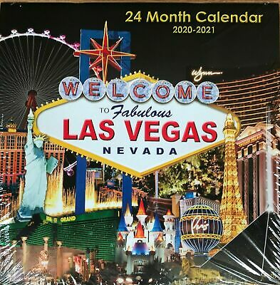 Las Vegas Calendar 2020 LAS VEGAS 2019   2020 24 Month Wall Calendar W/Beautiful Pictures