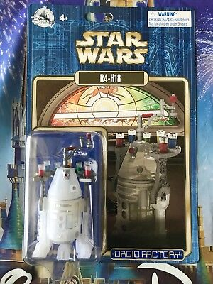 Disney Parks Star Wars Droid Factory Christmas Holiday R4-H18 figure 2018 WDW