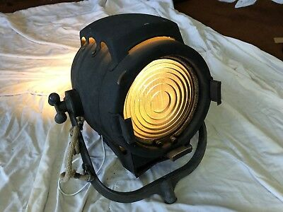Antique Theatre Light Converted to Standard Bulbs
