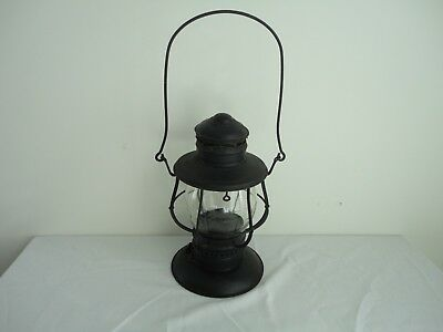 Antique Brass Top Bell Bottom C.T. HAM MFG. CO. Railroad Lantern