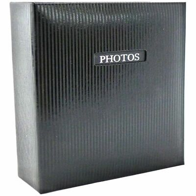 Elegance Black 7x5 Slip In Photo Album - 200 Photos