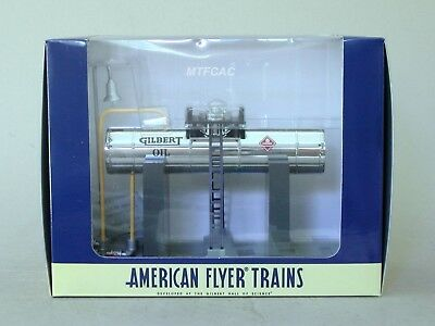 American Flyer 6-49877 Elevated Oil Tank by Lionel Chrome Version