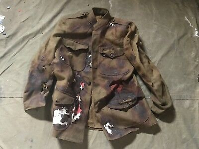 43Q Wwi Us M1917 Wool Field Tunic- Size Medium/large 42R