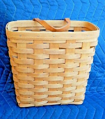 "Large Key Wall Hanging 10"" Longaberger Basket 1994"