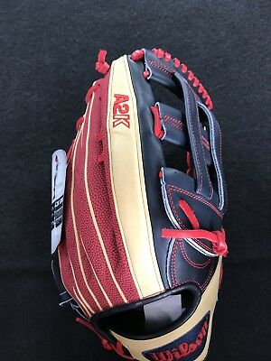 """New Wilson A2K 12.75"""" MB50 Mookie Betts SuperSkin Outfield Baseball Glove"""