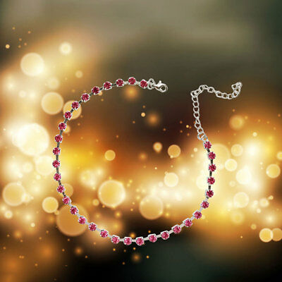 Women Necklace Pink Rhinestones Neck Chain Creative Short Personality Choker
