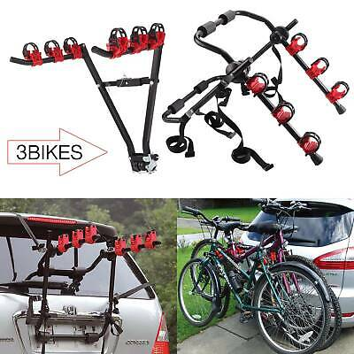 V & U Bicycle Carrier Car Rack Bike Cycle Universal Fits Most Cars Rear Mount