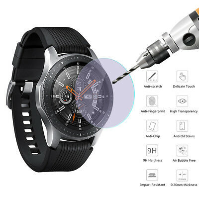 For Samsung Galaxy Watch 42mm 46mm HD Tempered Glass Screen Protector Film Cover