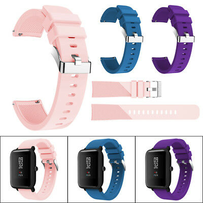 Sport Soft Silicone Wirstband Watch Strap Band For Xiaomi Huami Amazfit Bip