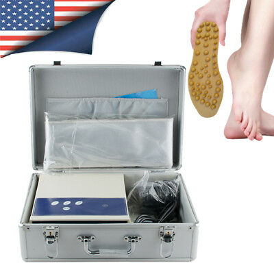 Professional Ion Cell Ionic Detox Foot Bath Spa Chi Cleanse Machine Health Care