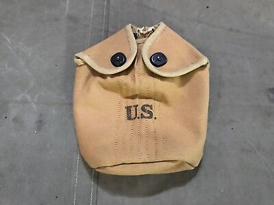 Wwi Us M1910 M1917 Canteen Cover