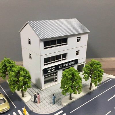 Outland Building Model Dress Store 3 Story Outland Building Model N Scale 1:160