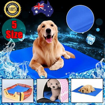 New Pet Dog Cat Bed Non-Toxic Cooling Cool Water Cooling Gel Mat Summer Pad