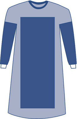 Medline Sterile Poly-Reinforced Sirus Surgical Gowns, 1 EA-DYNJP2202SH