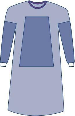 Sterile Fabric-Reinforced Aurora Surgical Gowns with Set-In Sleev