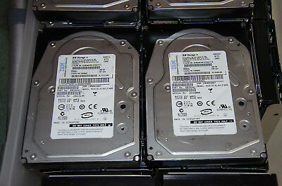 32 x IBM 146Gb 15k RPM Server Hard Drives in good working condition.