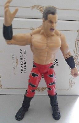 Chris Benoit Canadian Crippler WWE WWF Jakks Wrestling Figur 2002