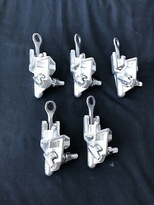 Maclean Power Systems C1540A Hot Line Clamps 4/0 800 NEW PACK OF 5