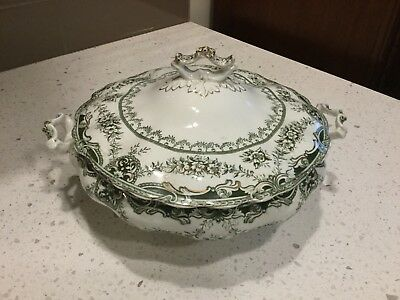 King Edward Covered Vegetable Dish