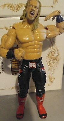 WWE WWF Rated R Superstar Edge Jakks Wrestling Figur 2005 (black/red)