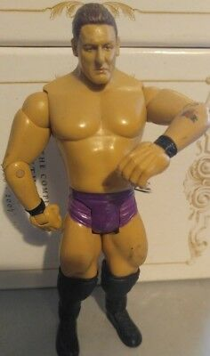 WWE William Regal (Lord Steven Regal) WWF Wrestling Jakks Figur 2006 (blue)