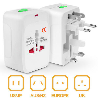 Electrical US/EU Universal Multi Purpose Travel Adapter Converter AC Power Plug