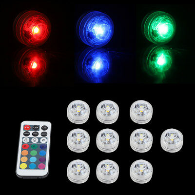 LED RGB Swimming Pool Light Spa Light Remote Control Waterproof Underwater Lamp
