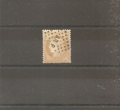 Timbre France Frankreich 1873 N°55 Oblitere Used Ambulant