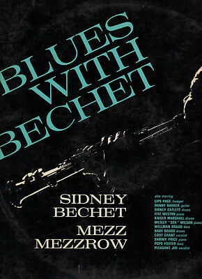 Sidney Bechet Mezz Mezzrow - blues with bechet, LP, tommy's blue, ole miss stomp