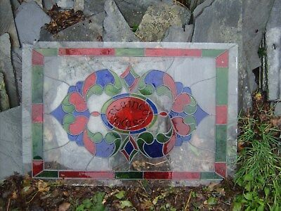 2 Sheets of Stained Glass