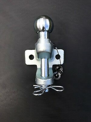 Tow ball pin and jaw trailer hitch/coupling EU approved 3.5tonne free P&P