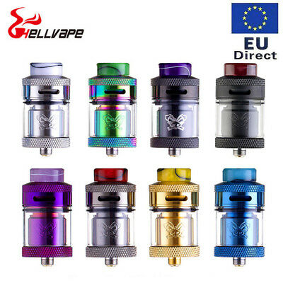 Authentic Hellvape Dead Rabbit RTA Verdampfer Rebuildable tank 4.5ML 25MM Dual