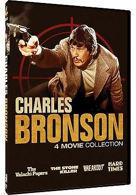 Charles Bronson - 4 Movie Collection Charles Bronson 2018 DVD 0683904547347 NEW