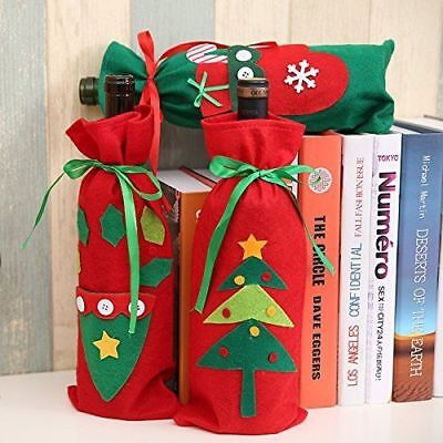 Ideas for Gits Christmas Mery Christmas Wine Covers Cards Ribbon Stocking Crafts