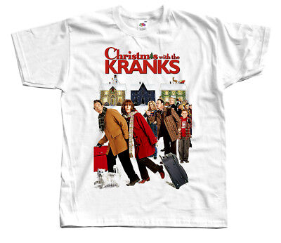 Christmas With the Kranks, movie poster, Christmas T-SHIRT DTG (WHITE) S-5XL