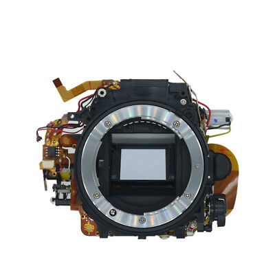 Original Mirror Box Plate ASSY with Shutter Part for NIKON D7200 Camera Repair