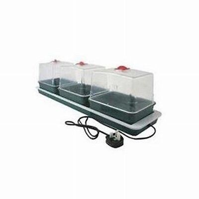 Garland Electric Heated Windowsill Propagator - 3 Trays