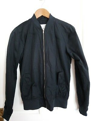 Mens / Boys NEXT short, light  Jacket ( XS mens 34-36) in Black RRP £50 good con