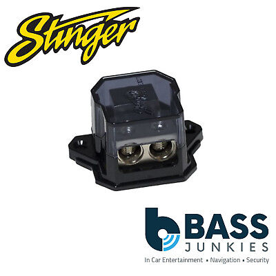Stinger SSDB024 (1) 1/0GA Input to (2) 4GA Output Distribution Block
