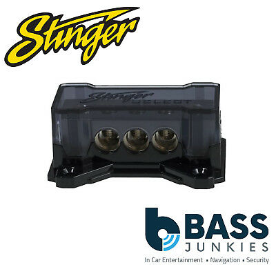 Stinger SSDB448 (1) 4GA Input to (4) 8GA Output Distribution Block