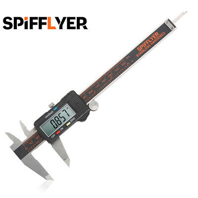 Spifflyer 6 Inch 150mm Stainless Steel Digital Caliper Electronic Vernier Gauge