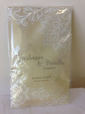 Christmas Scented Gold Sachet Cashmere and vanilla hanging scented sachet