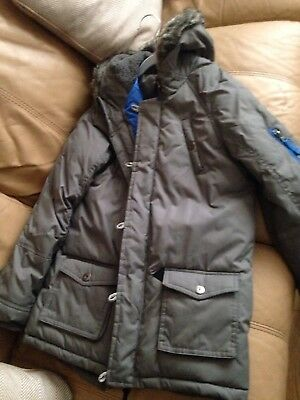 Boys Winter Coat Age 11-12 Worn Once