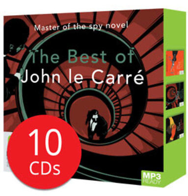 John Le Carre MP3 CD Collection - 10 MP3 CDs
