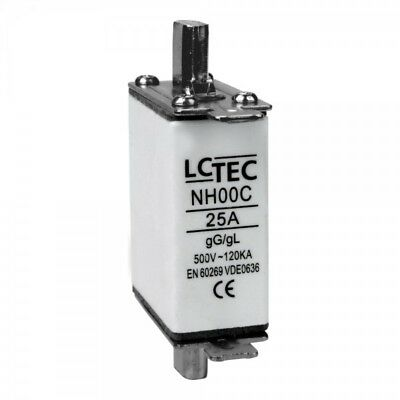 Nh Sécurité 25A Dispositif de Lame 25A WT-00 Gg 500V NH25 NH00C LC 2135