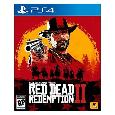 NEW Sony Playstation 4 PS4 Game Red Dead Redemption 2