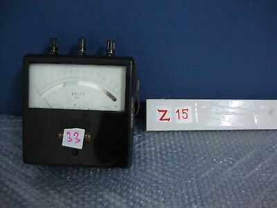 YEW Vintage Yokogawa Electric Works type Portable AC Voltmeter m516k42
