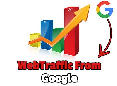 Web traffic  From Google,1.000 Unique REAL Hits to You Website  From Google