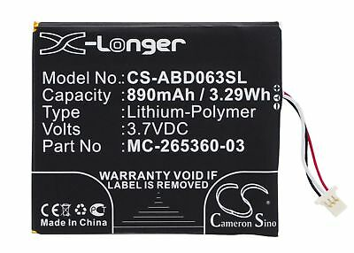 Upgraded Battery For Amazon Kindle 7th Generation,SY69JL,WP63GW