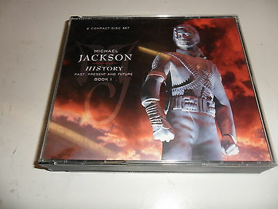 CD  Michael Jackson - HIStory - Past, Present And Future - Book 1